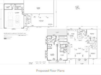 Proposed Floor Plans JA Designs Drafting and Interior Design South Lake Tahoe