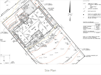Site Plan JA Designs Drafting and Interior Design South Lake Tahoe