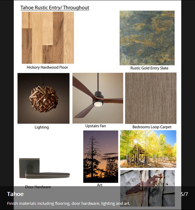 Tahoe JA Designs Drafting and Interior Design South Lake Tahoe