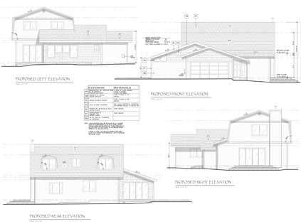 Tahoe Meadows Addition Elevations